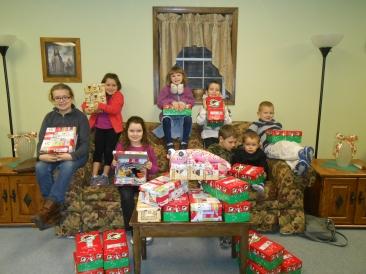Operation Christmas Child 2013